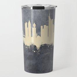 Frankfurt Germany Skyline Travel Mug