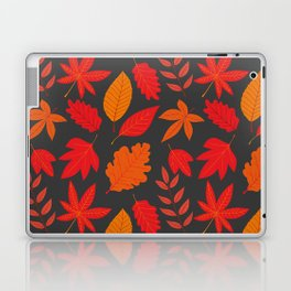 Red autumn leaves Laptop & iPad Skin
