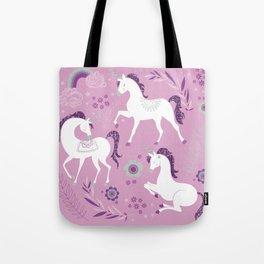 Unicorn Dance Tote Bag
