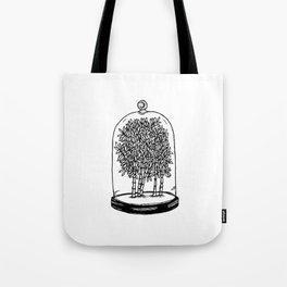 Bamboo Belljar Tote Bag
