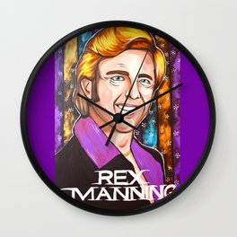 Rex Manning Empire Records Wall Clock