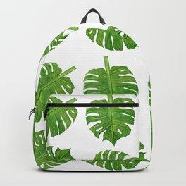 Tropical Leaves Dancing Backpack