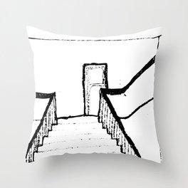 Guilt of Conscience Throw Pillow