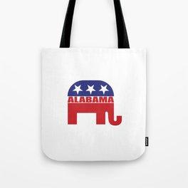 Alabama Republican Elephant Tote Bag