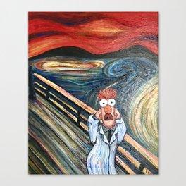 The Meep Canvas Print
