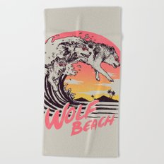Wolf Beach Beach Towel