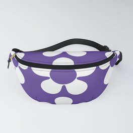 Purple Spring Daisies Fanny Pack