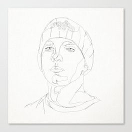 STAR COLLECTION |  SLIM SHADY - EMI NEM Canvas Print