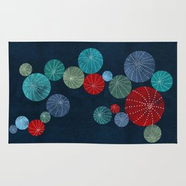 Colorful cactus field Rug