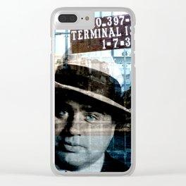 Al Capone Clear iPhone Case