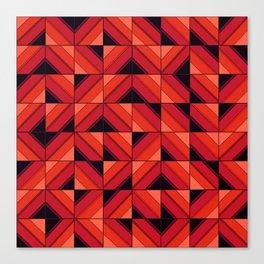 Fake wood pattern Canvas Print