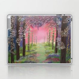 Into the path of Happiness Laptop & iPad Skin