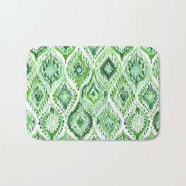 FROM WITHIN Green Moroccan Ogee Bath Mat