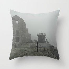Levant Mist Throw Pillow