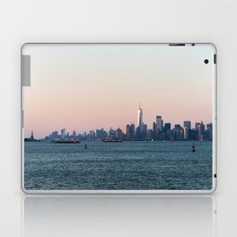 New York City Summer Sunset Skyline Laptop & iPad Skin