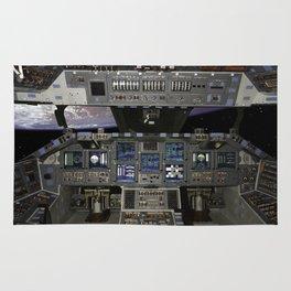 Space Shuttle NASA Rug