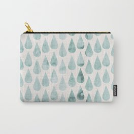 Drop water pattern Carry-All Pouch
