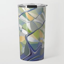 The earth seen from the space Travel Mug