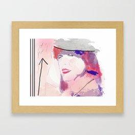 Miss Direction  Framed Art Print