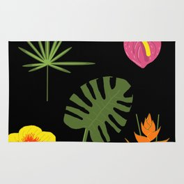 Jungle / Tropical Pattern Rug