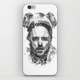 Breaking Bad, Jesse Pinkman splatter painting iPhone Skin