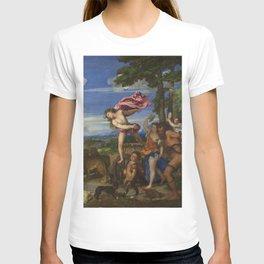 """Titian (Tiziano Vecelli) """"Bacchus and Ariadne"""", 1520-1523 T-shirt"""