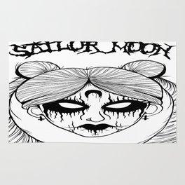 Black Metal Sailor Moon Rug