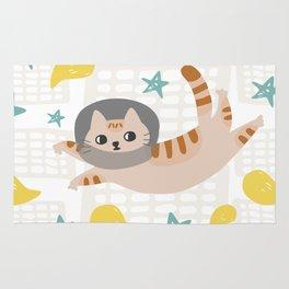 Simba the cat Rug