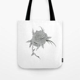 Rose Tattoo Design Tote Bag