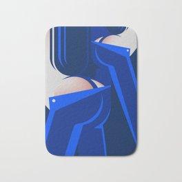 Blue Jeans 3/3 Bath Mat