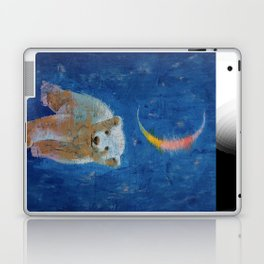 Polar Bear Cub Laptop & iPad Skin