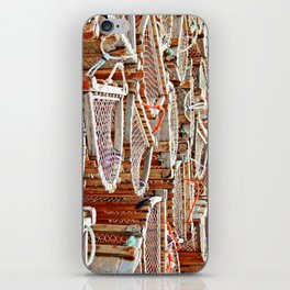 Traditional Lobster Traps iPhone Skin