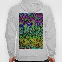 Psychedelic Flower Rows Hoody