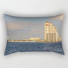 Shoreline in Fort Myers II Rectangular Pillow