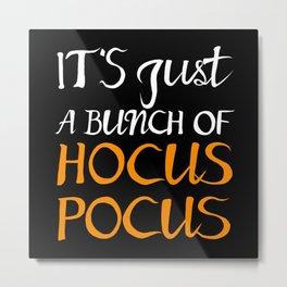 Halloween Hocus Pocus Metal Print