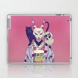 Neko Lady Laptop & iPad Skin