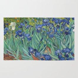 Irises by Vincent van Gogh Rug