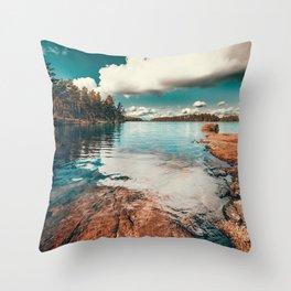 Belle Svezia Throw Pillow