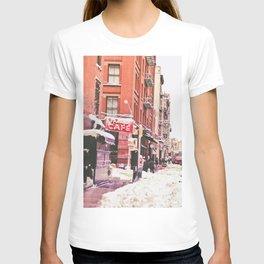 New York City Snow Soho T-shirt