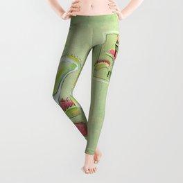 Venus Flytrap Leggings