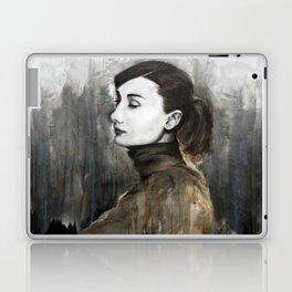 Audrey Hepburn Speed Painting Laptop & iPad Skin