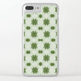 Pine Fronds Clear iPhone Case