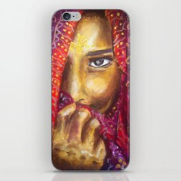 India Girl iPhone Skin