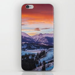 Paint the Sky iPhone Skin