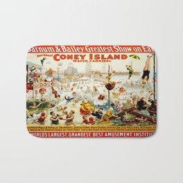 Vintage poster - Circus Bath Mat