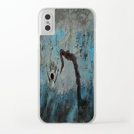 Drowning in Guilt Clear iPhone Case