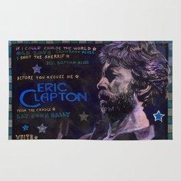 Eric Clapton Rug