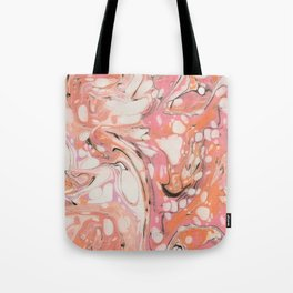 Ebru (Water Marble) Tote Bag
