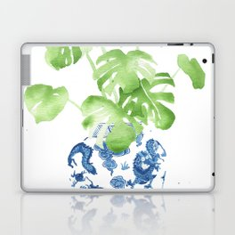 Ginger Jar + Monstera Laptop & iPad Skin
