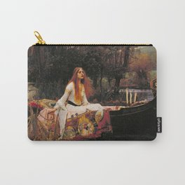 The Lady of Shallot - John William Waterhouse Carry-All Pouch
